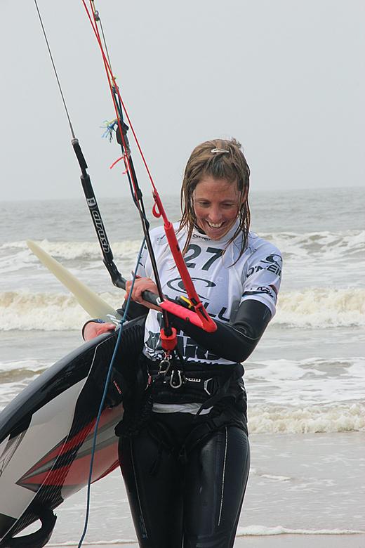 Worldcup kitesurfen - Afgelopen zondag in Scheveningen. Zonder dat ik het op dat moment wist, bleek later dat ik de nederlandse nummer 1 op de wereldr