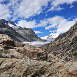 Aletschgletscher Zwitserland