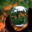 De wereld door een glazen bol
