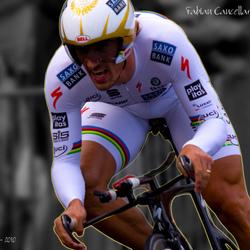 Proloog Tour de France, Rotterdam, Fabian Cancellara (Saxo)