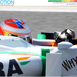 Close up Paul di Resta