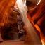 Lightbeam Antelope Canyon