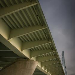 Die brug in Rotterdam