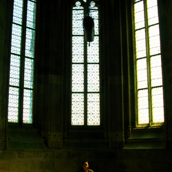 Portret in Mont Saint Michel