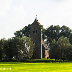 Kerktoren in Friesland