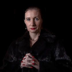 Portret van Scarlet