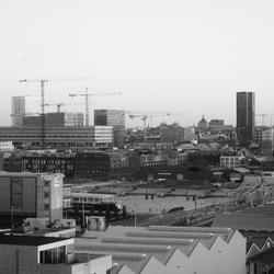 Zicht op Antwerpen