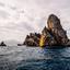 De prachtige rotsen van Illes Medes, Spanje.
