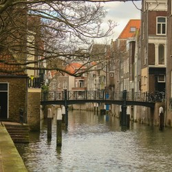 Pittoresk Dordrecht