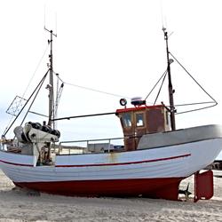 Jutlandse vissersboot