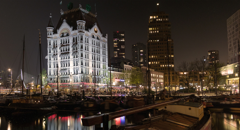 Witte huis Rotterdam -
