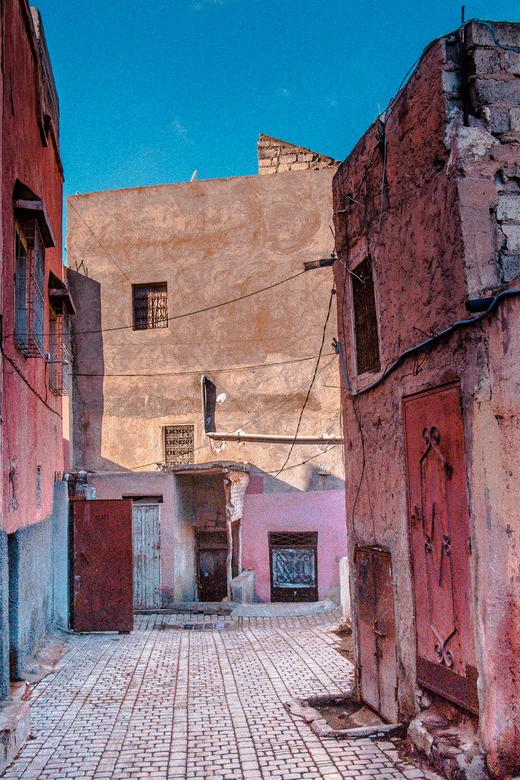 Marrakech de kleurrijke stad - Ogen en geheugenkaarten kom je te kort in deze bijzondere stad.