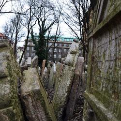 Praag -Oude Joodse Begraafplaats 2