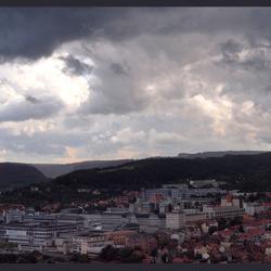 Regenbui boven Jena
