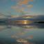 Uitzicht van het mooie Lauwersmeer