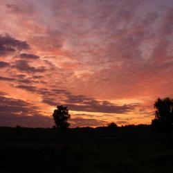 Zonsondergang op Groevenbeekse Heide
