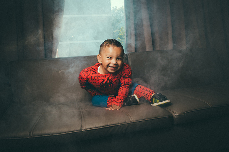 Superhero Jayden -