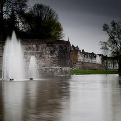 Fontein in het stadspark van Maastricht