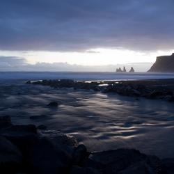 De prachtige IJslandse kust