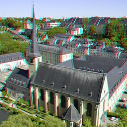 Johanneskirche Luxembourg 3D