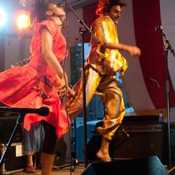 show bij Nyama 2009