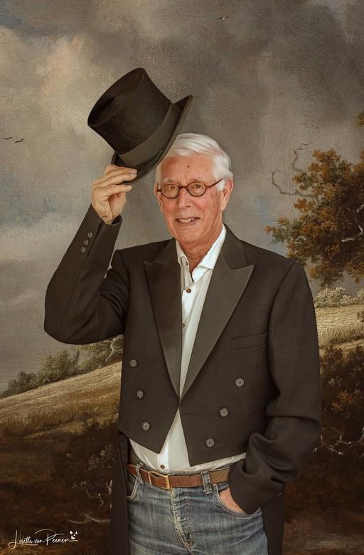 80 jaar - Fotoshoot ter ere van verjaardag, 80 jaar