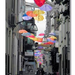 Colourfull Umbrella's