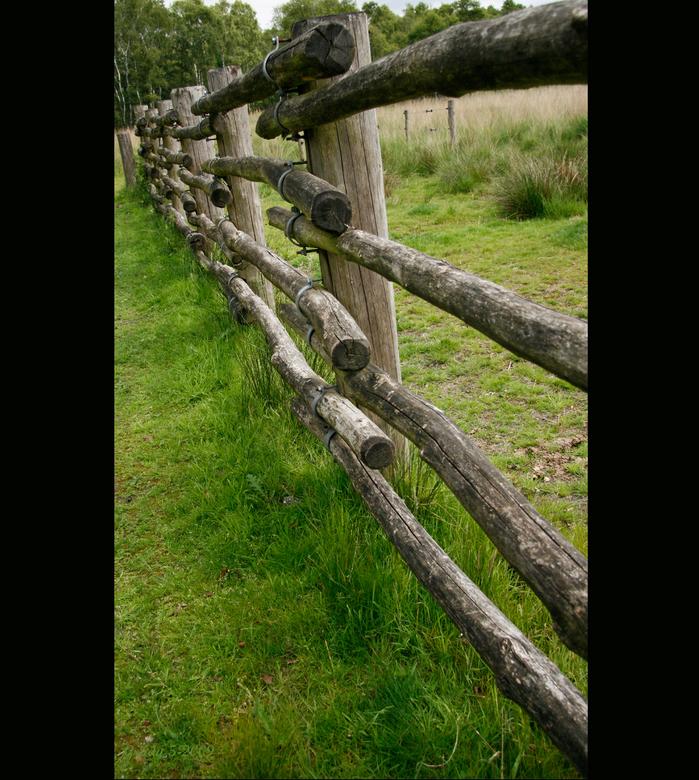 Mariapeel - Diverse van deze hekwerken gezien op de Mariapeel, waarschijnlijk voor het vee dat er loopt.<br /> Bedankt weer voor jullie reacties, fij