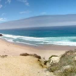 Praia midden Portugal