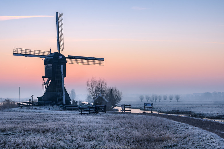Cold Morning Kinderdijk