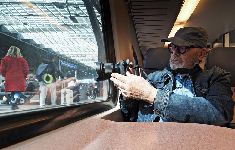Rotterdam 1 - Gisteren weer een top dag ..met  Jaap Koer,door Rotterdam,Blaak en genieten van de Architectuur .