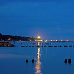 nacht aan de oostzee
