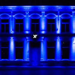 De oude rechtbank tijdens Glow