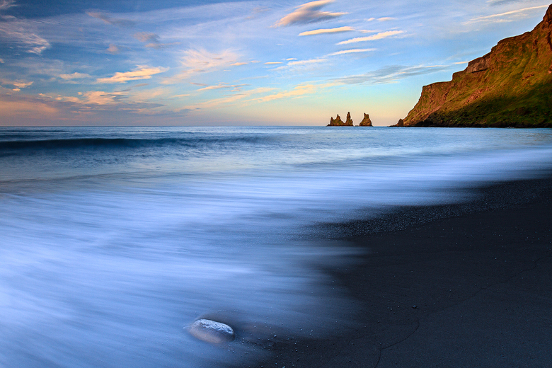 Strand van Vik, Ijsland