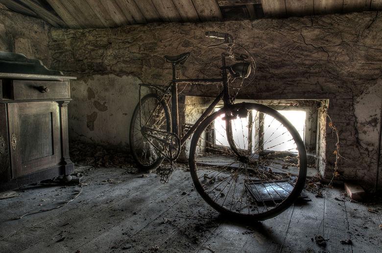 Oude fiets -