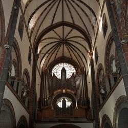 Orgel in de St.Severus kerk Boppard