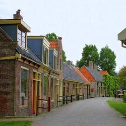 Straatje in het Zuiderzee museum.