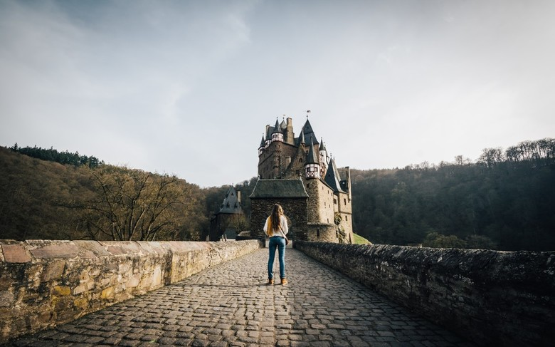 A princess and a castle.