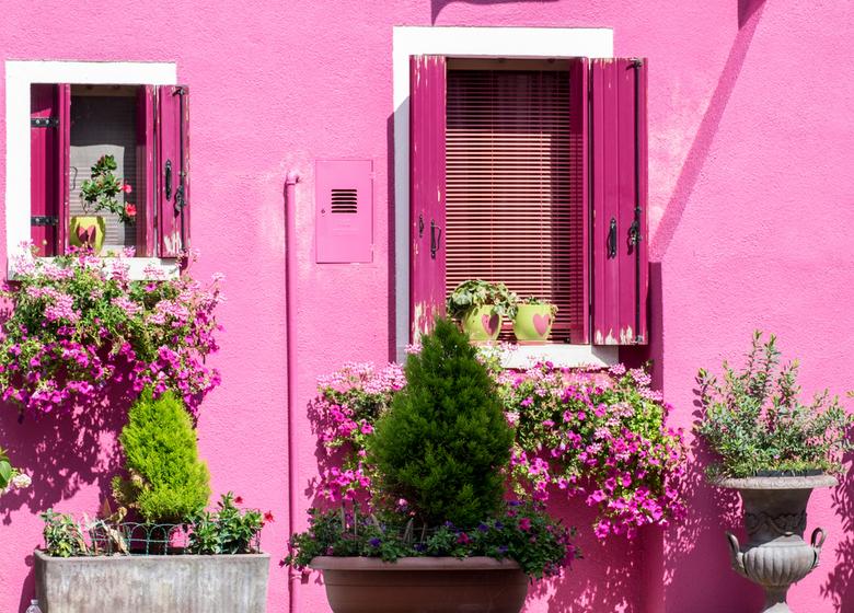 Kleurrijk Burano 03 - Hoe roze wil je het hebben?