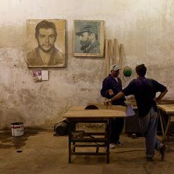timmer werkplaats in Havana