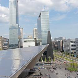 Rotterdam vanaf de trap