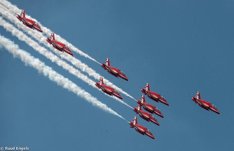 The Red Arrows - Volkel.<br /> Rest foto&#039;s volgt.