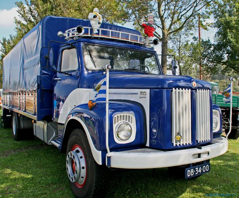 Old Timer Scania 80 super