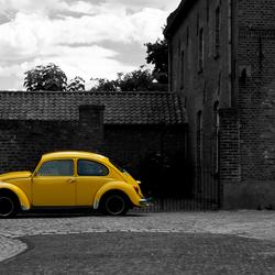 Dutch yellow Cab