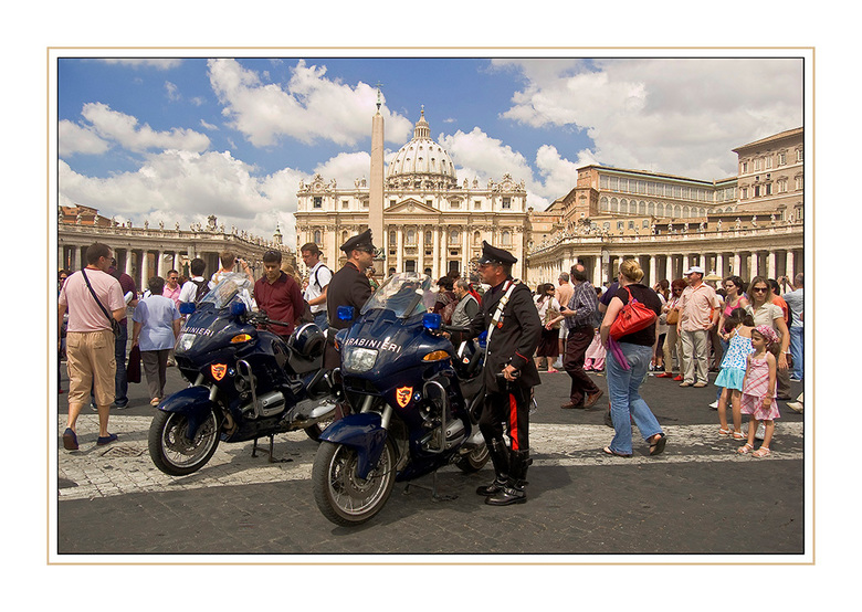 carbinieri - toeristen hoezo?