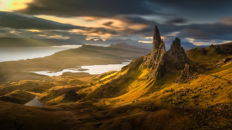 Old man of Storr - Old man of Storr in isle of Skye