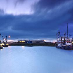 Panorama haven Lauwersoog