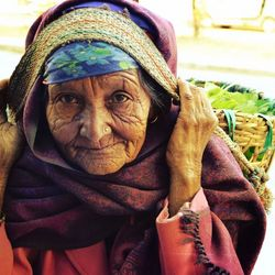 Beautyfull old woman