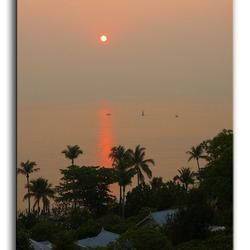 Opkomende zon Hua Hin Thailand (4)