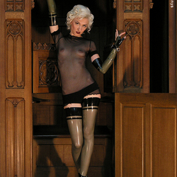 sandra sinner in church